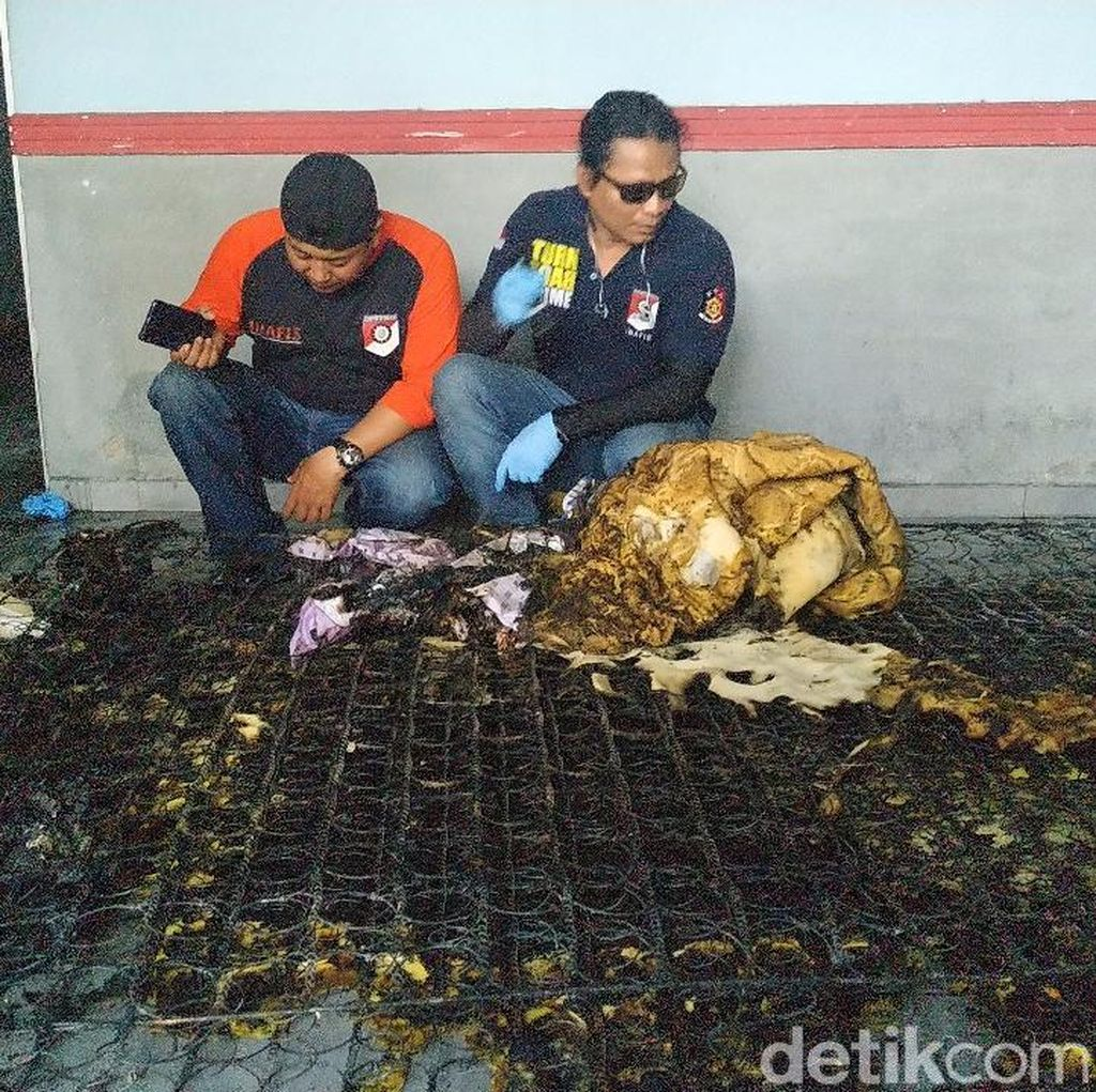 Istri Dibakar Suami di Surabaya, Polisi Amankan Springbed dan CCTV