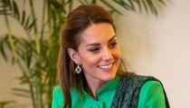 Foto: Cantiknya Kate Middleton Bersolek Bak Wanita Pakistan