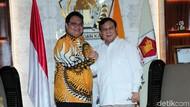 Usai Cak Imin dan Surya Paloh, Kini Prabowo Temui Airlangga