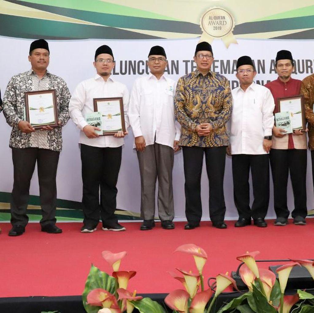 Kemenag Anugerahkan Al-Quran Award untuk Pengembang Mushaf Al Quran