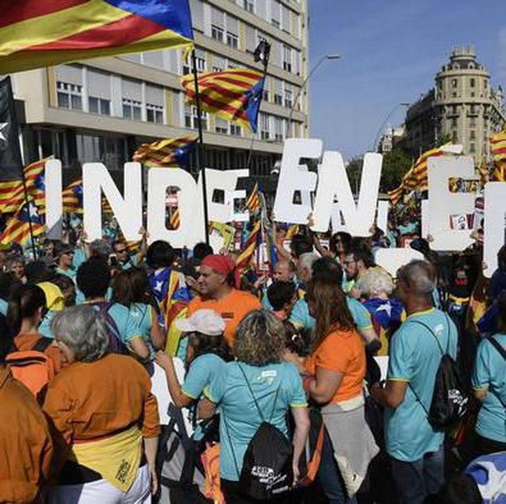 Para Pemimpin Gerakan Separatis Catalunya Divonis Penjara Belasan Tahun