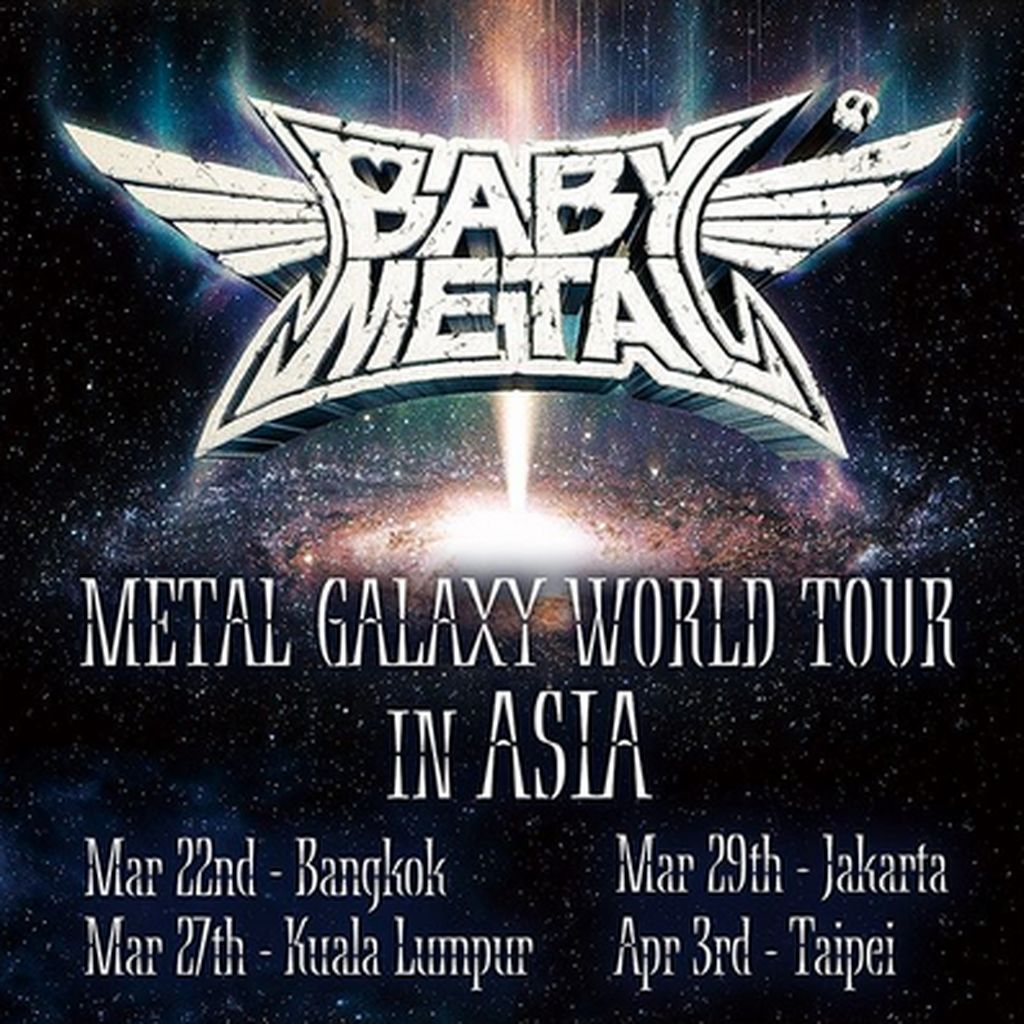 Babymetal Umumkan Konser di Jakarta 2020