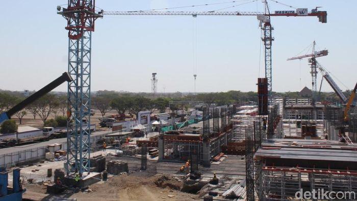 Ilustrasi Pembangunan Bandara Foto: Suparno
