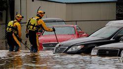 Korban Tewas Akibat Topan Hagibis Bertambah Jadi 74 Orang, 12 Hilang