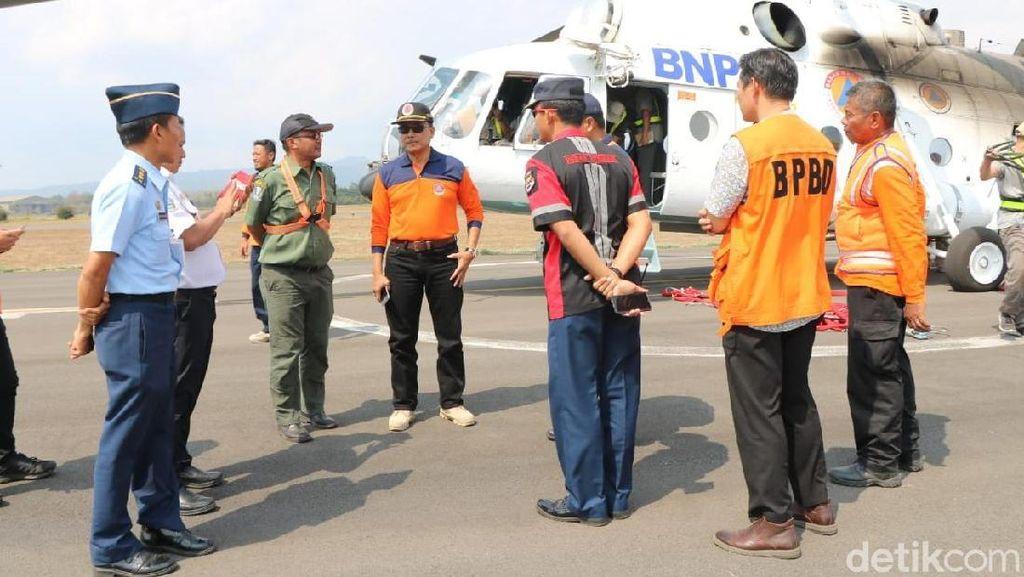 Water Bombing Batal Padamkan Kebakaran di Gunung Arjuno karena Cuaca
