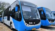 59 Bus TransJ Zhongtong Bebas Video Vulgar, Sudah Bisa Mengaspal