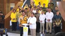 Bertandang ke Golkar, Prabowo: Saya Kembali ke Almamater