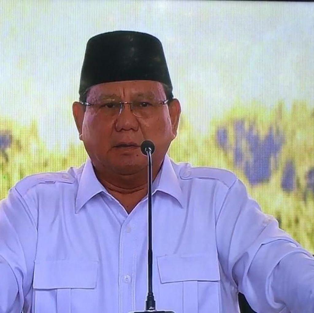 Disampaikan Secara Tertutup, Ini 3 Sikap Politik Prabowo