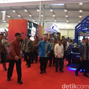 Buka Trade Expo 2019, JK Singgung Perang Dagang AS-China