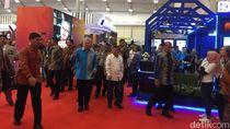 Buka Trade Expo 2019, JK Singgung Perang Dagang AS-China