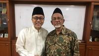 Kedatangan Zulkifli Hasan disambut langsung oleh Ketua Umum Dewan Dakwah Indonesia (DDI) Muhammad Siddik. Istimewa/DDI.