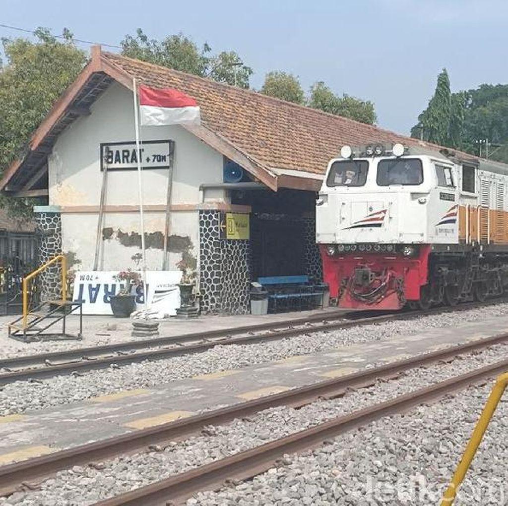 Uji Coba Jalur Ganda Madiun-Ngawi Aman, Tapi 3 Kereta Api Terlambat