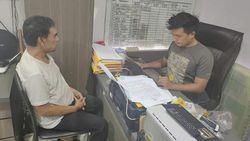 Penampakan Sutradara Amir Mirza Gumay yang Ditangkap karena Sabu