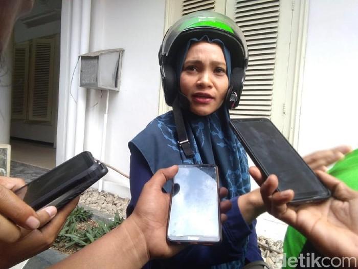 Hanum Rais di gedung DPRD DIY, Rabu (16/10/2019).