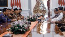 Pimpinan MPR Temui Jokowi, Bahas Rencana Pelantikan Presiden