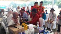 Pesta Rakyat Warnai Rapimnas Gerindra di Hambalang