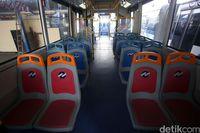 Bus Zhongtong jadi armada TransJakarta