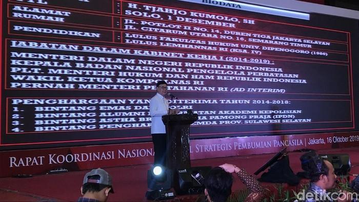 Menteri Dalam Negeri (Mendagri) Tjahjo Kumolo. (Foto: Rolando/detikcom)