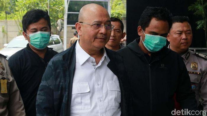 Wali Kota Medan Dzulmi Eldin yang terjaring operasi tangkap tangan (OTT) /Foto: Ari Saputra