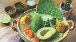 Bukan Kaldu Ayam, Kaldu Hot Pot Kekinian Ini Pakai Durian hingga Boba