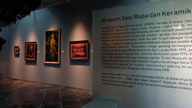 Museum Seni Rupa dan Keramik Kini Punya 'Wajah' Baru