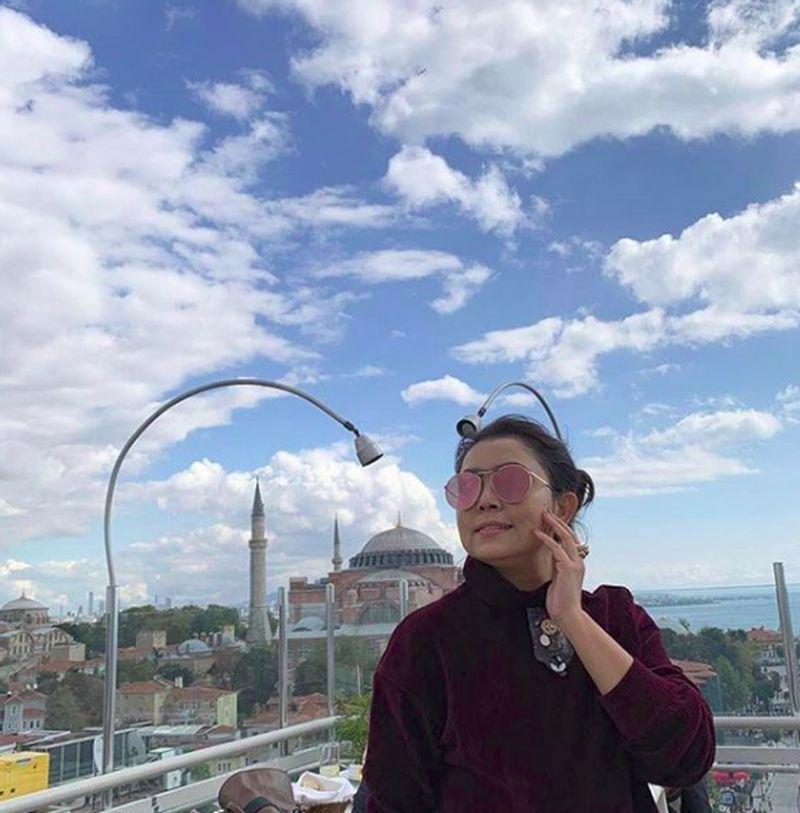 Mayangsari bersama suami dan anaknya baru saja kembali dari liburan ke Turki. (mayangsaritrihatmodjoreal/Instagram)