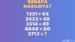 Soal matematika mungkin menakutkan bagi sebagian orang. Tapi tenang teka-teki ini hanya butuh kemampuan hitung dasar kok asal bisa menebak triknya.