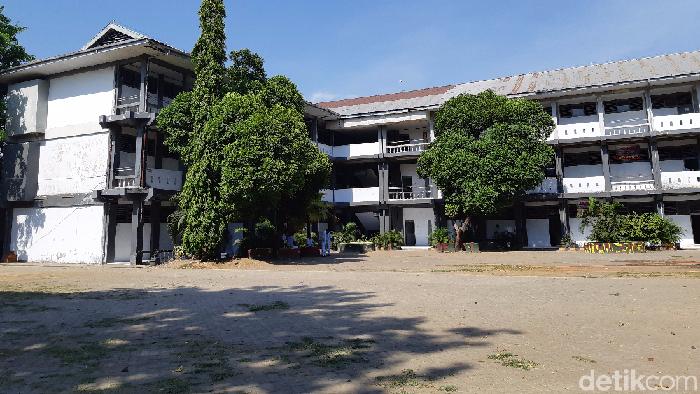 Gedung SMAN 1 Makassar (Noval Dhwinuari Antony/detikcom)