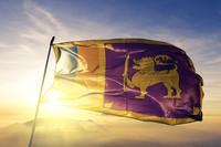 Ada gambar singa pada bendera negara Srilanka, yang memegang pedang (iStock)
