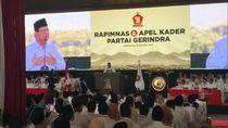 Prabowo Sambut Kembalinya Sandiaga-Beri Keris ke Fadli Zon di Rapimnas