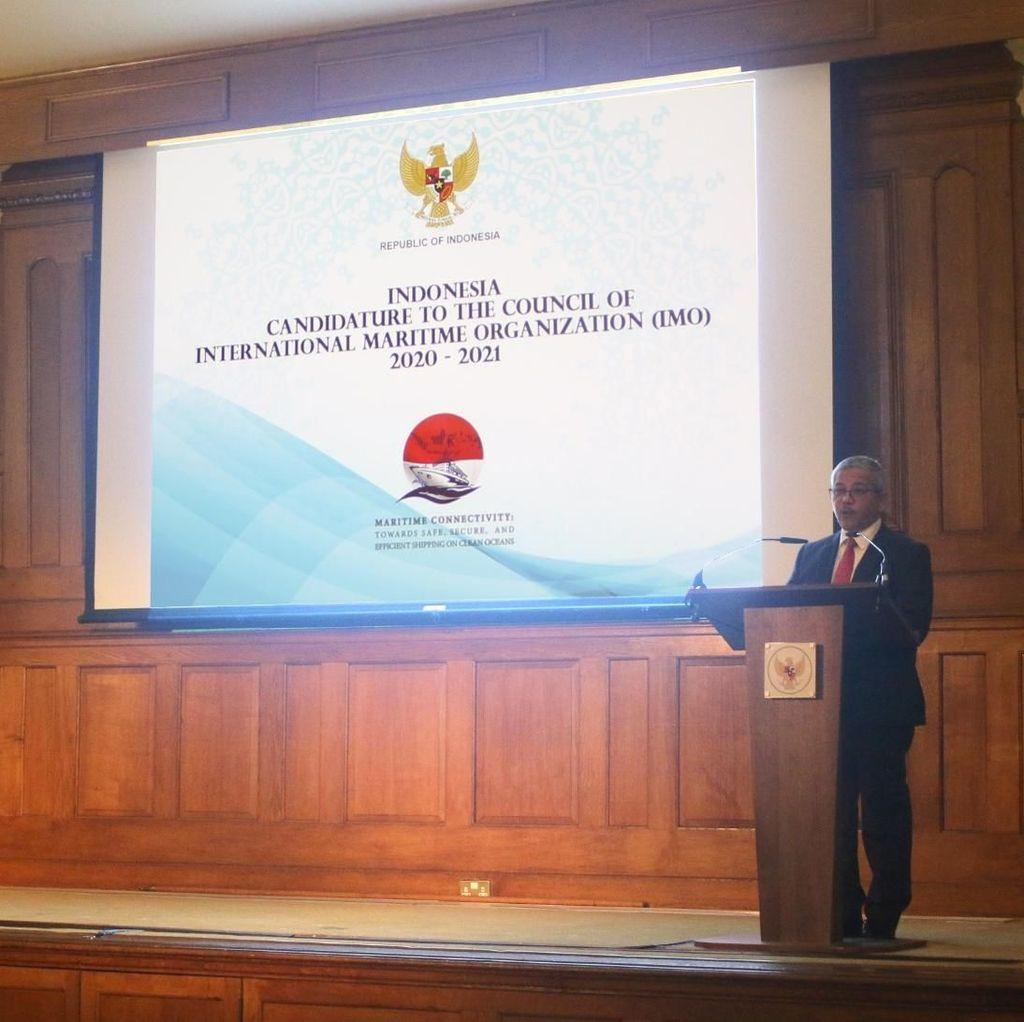 Indonesia Ingin Jadi Anggota Dewan IMO Lagi, KBRI London Galang Dukungan