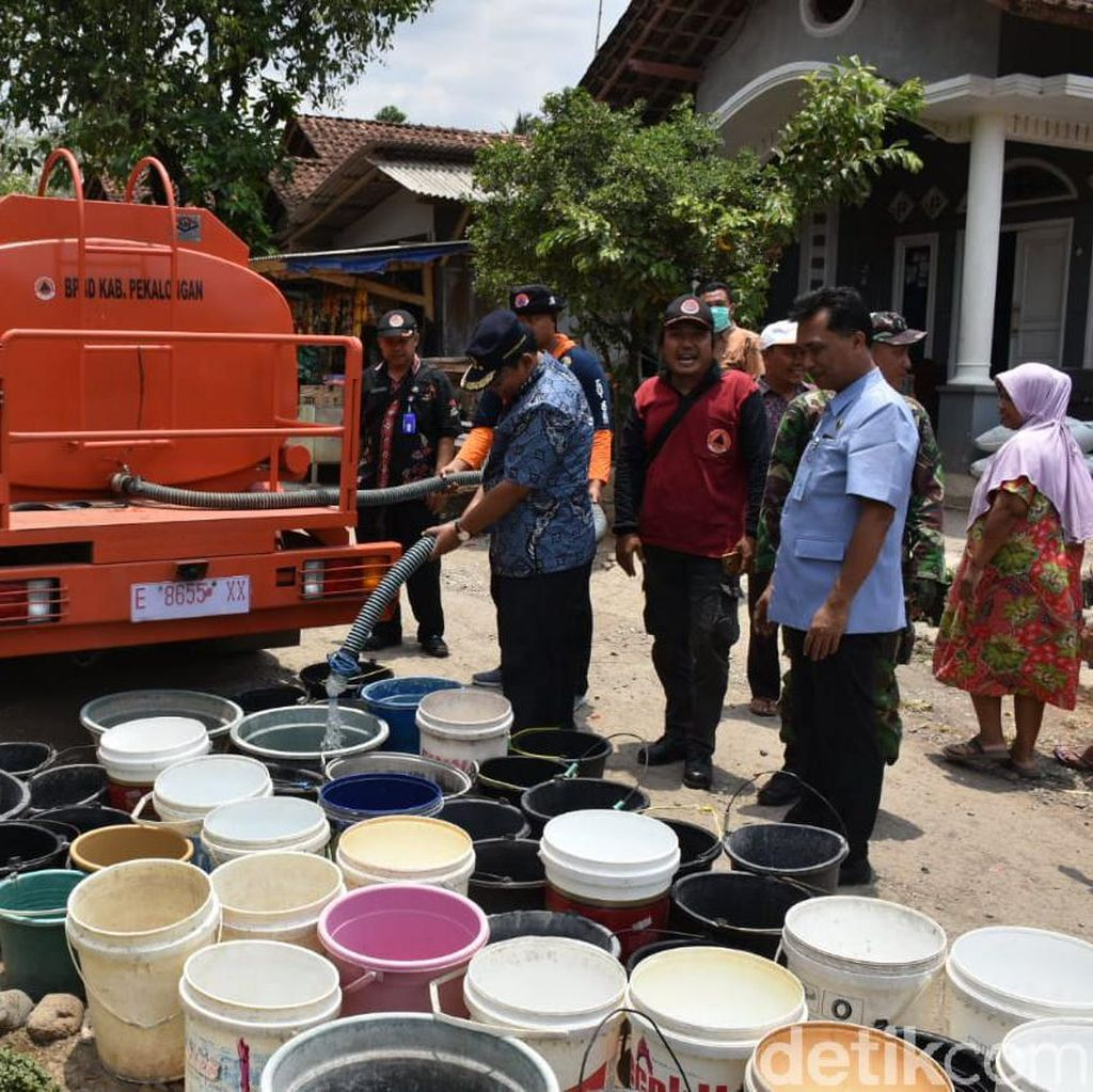 Krisis Air Bersih di Pekalongan Meluas, 36.302 Jiwa Terdampak