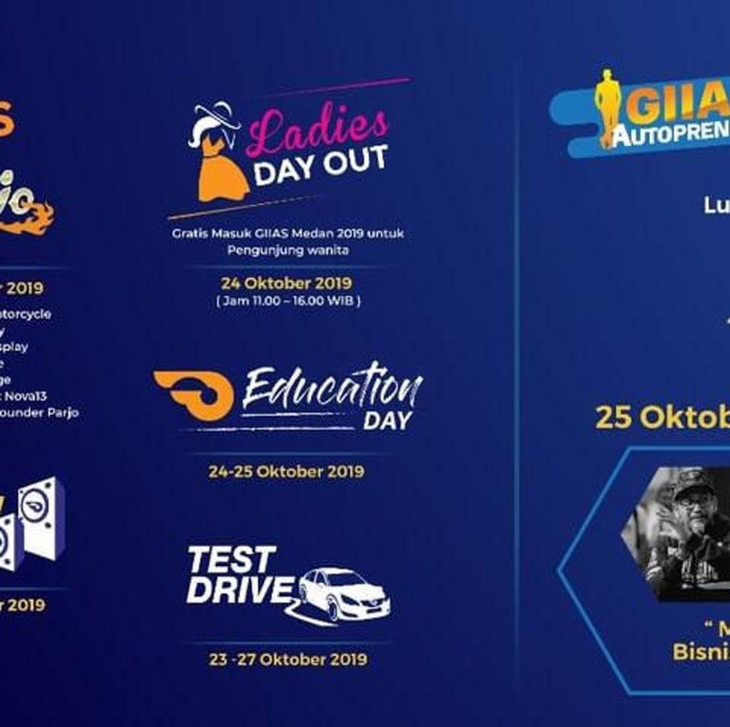 Tak Cuma Pameran Mobil, GIIAS Medan 2019 Sajikan Edukasi dan Hiburan