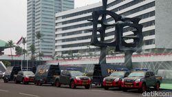 TNI-Polri Pertebal Pengamanan DPR-Istana Saat Pelantikan Jokowi