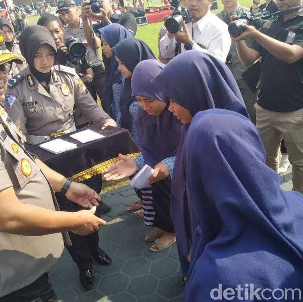 Polisi Jatim Bangga Tak Ada Pelajar Ditahan Karena Anarkis Saat Demo