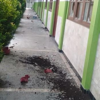 SMK Izzata Depok Rusak Diserang, Diduga Imbas Tawuran Pelajar