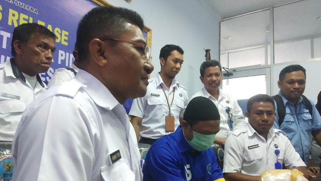 Pengedar Narkoba Jaringan Lapas Kendari Dibekuk, BNNP Sita 1,17 Sabu