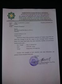 Rektor UIN Suska Panggil UAS yang Undur Diri dari PNS