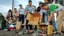 Bandara Husein Musnahkan Sejumlah Barang Tertinggal Milik Penumpang