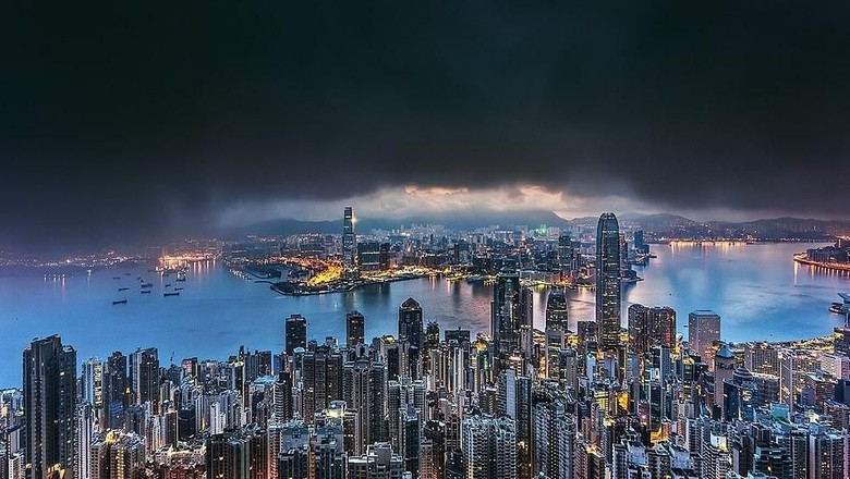 Lanskap Hong Kong (Foto: Tamas Rizsavi/Facebook)