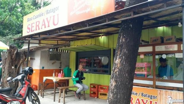 Cuanki Serayu di Bandung