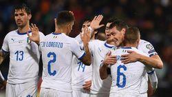 Kualifikasi Piala Eropa: Lumat Liechtenstein 5-0, Italia Jaga Kesempurnaan