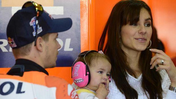 Keluarga jadi salah satu alasan Casey Stoner memilih pensiun di usia muda.