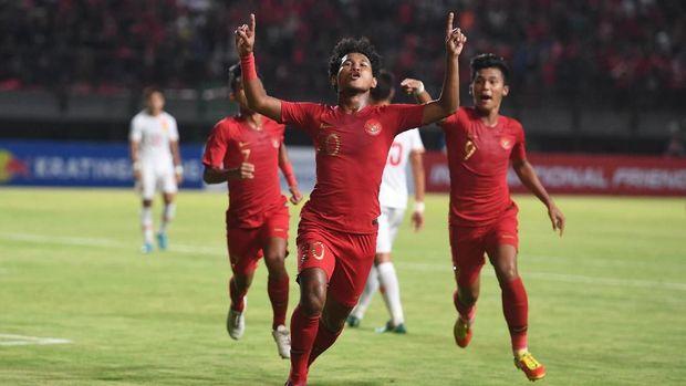 Timnas Indonesia U-19 yang kemungkinan akan menjadi skuat untuk dipersiapkan di Piala Dunia U-20 2021. (