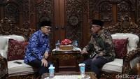 Dalam pertemuan tersebut kedua Ketua Umum tersebut sepakat untuk mengakhiri segala perdebatan umat Muslim menjelang pelantikan Presiden Joko Widodo dan Wakil Presiden Maruf Amin.