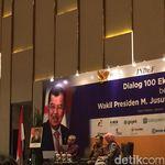 Ngobrol Bareng 100 Ekonom, JK Singgung Naik Turun Ekonomi Dunia