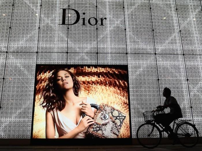 Salah satu butik Dior di Beijing, China. (Foto: Getty Images)
