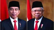 Berjas, Ini Foto Resmi Jokowi dan Maruf sebagai Presiden-Wapres