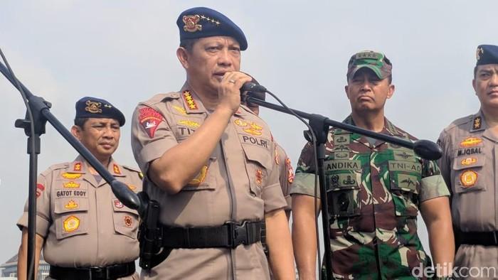 Kapolri Jenderal Tito Karnavian. (Foto: Jefrie/detikcom)