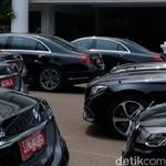 Mobil Mercy untuk Tamu Negara Pelantikan Jokowi Sewanya Gratis